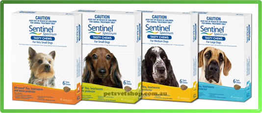 Sentinel Spectrum Tasty Chews
