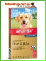 Advantix for Large Dogs Blue 6 Pack