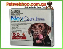 Nexgard red for dogs