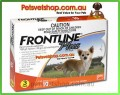 Frontline Plus (Orange) for Small Dogs 3 month pack