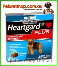 Heartgard Plus (Blue) for Dogs 0-11 kg (up to 25 lb)