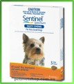 Sentinel Spectrum Tasty Chews - Very Small Dogs up to 4 kg (up to 9 lbs) Brown