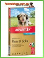 Advantix for Small Dogs Aqua 6 Pack