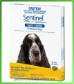Sentinel Spectrum Tasty Chews - Medium  Dogs 11 - 22  kg (26-50 lbs) Yellow