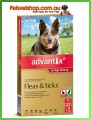 Advantix for Medium Dogs Red 6 Pack