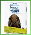 Sentinel Spectrum Tasty Chews - Small Dogs 4 - 11 kg (11-25 lbs) Green