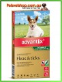 Advantix for Puppies Green 6 Pack