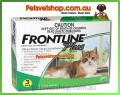 Frontline Plus (Green) for Cats 3 month pack