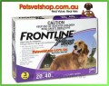 Frontline Plus (Purple) for Large Dogs 3 month pack