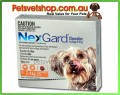 Nexgard Orange for dogs